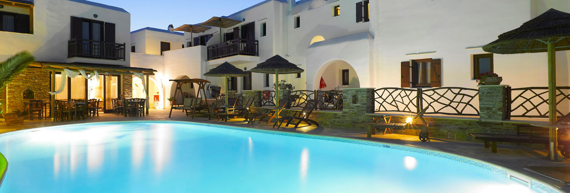 Hotel Anemomilos Naxos - swimming pool