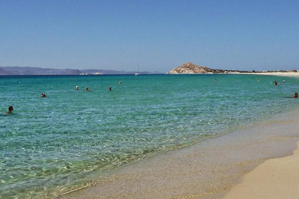 Akti kastraki beach