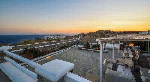 Villa Mando 2 balcony sea view