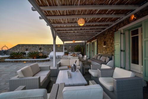 Seating area, Villa Mando 2