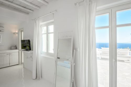 Master bedroom 1 sea view, Villa Mando 1