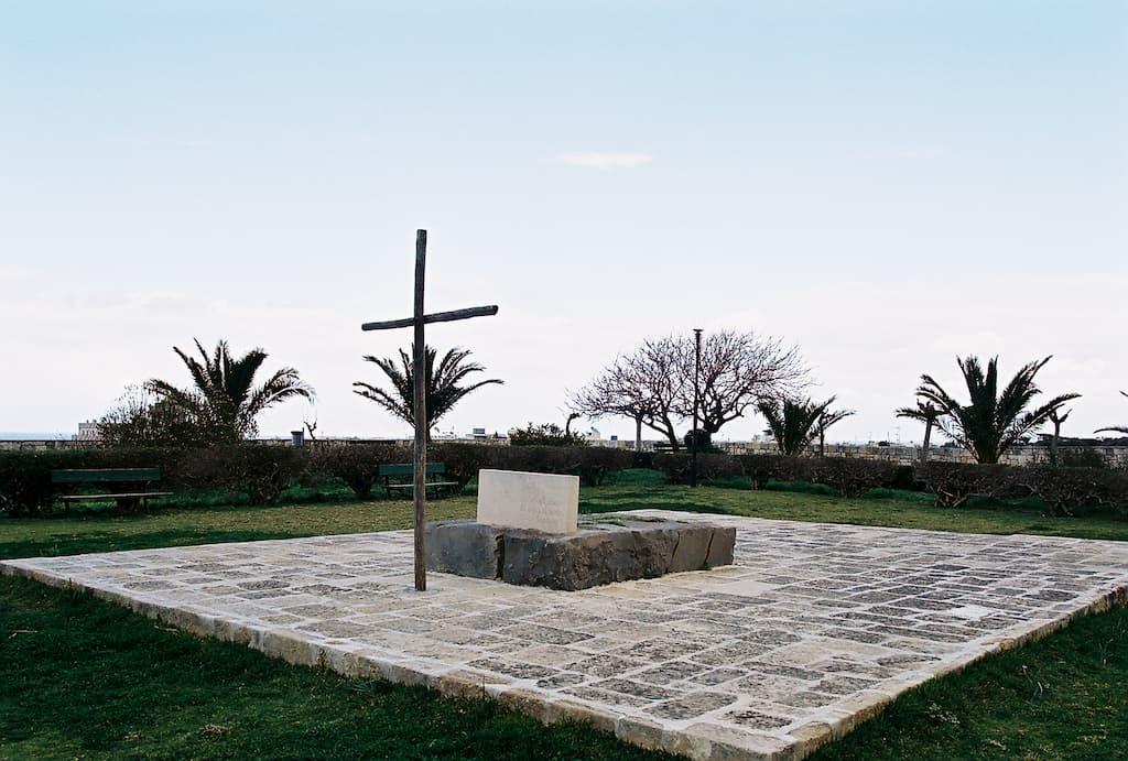 Tomb of N. Kazantzakis