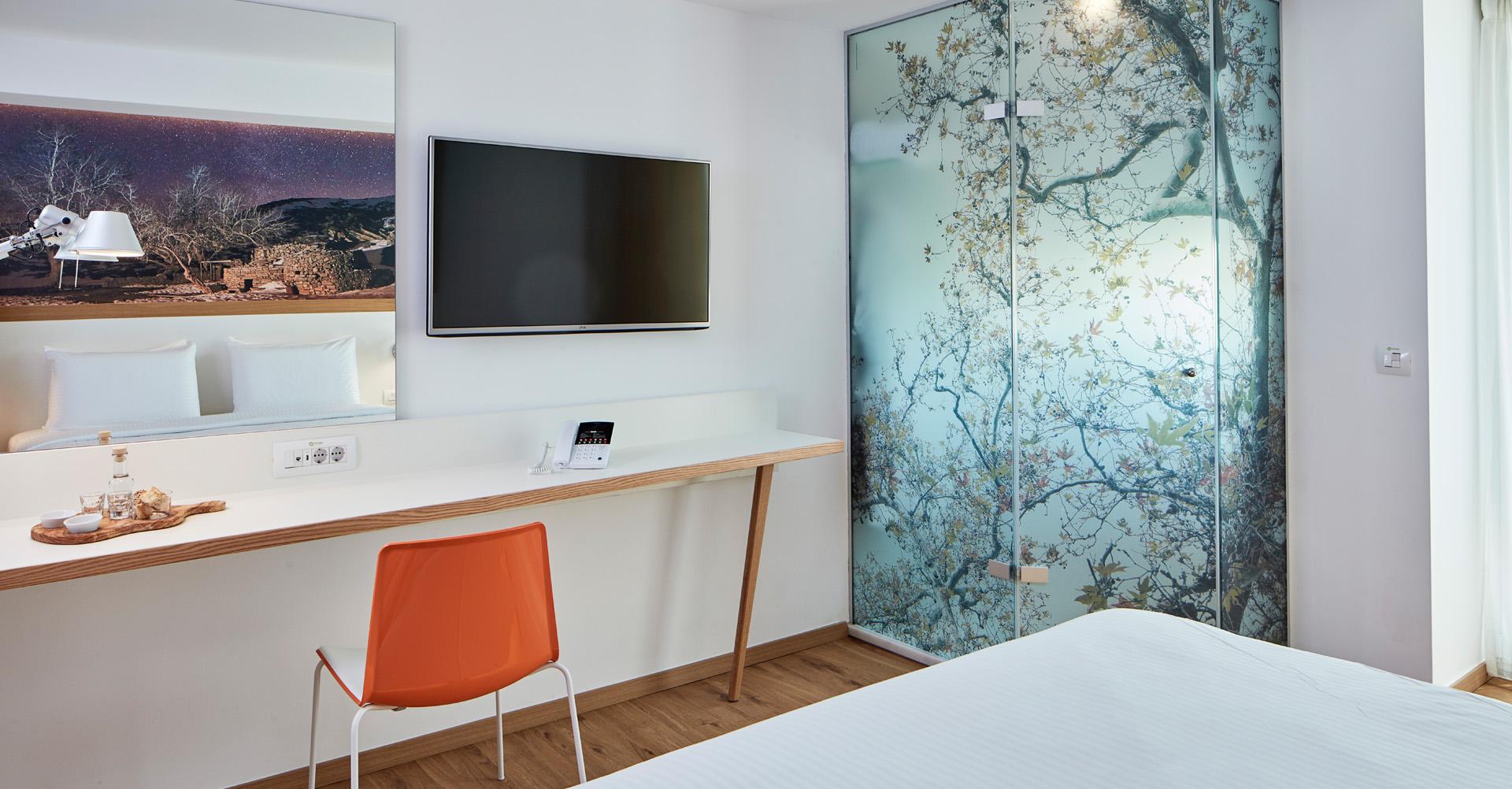 Zeitgenössische Architektur und Innenarchitektur - Olive Green Hotel