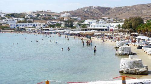 Ornos beach - Mykonos