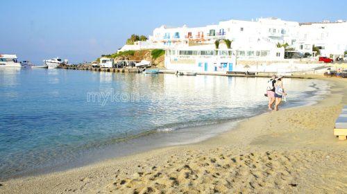 Platis Yialos beach, Mykonos