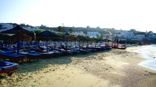 Platis Gialos beach - Mykonos