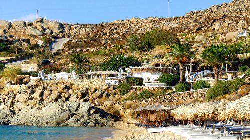 Super Paradise beach, Jackie o