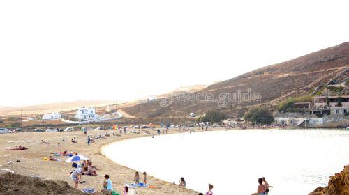 ftelia beach mykonos island