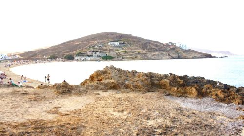 Ftelia beach west view