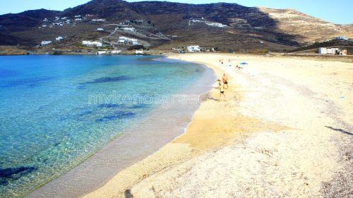 Ftelia beach east view