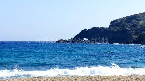 Fokos beach, Mykonos island