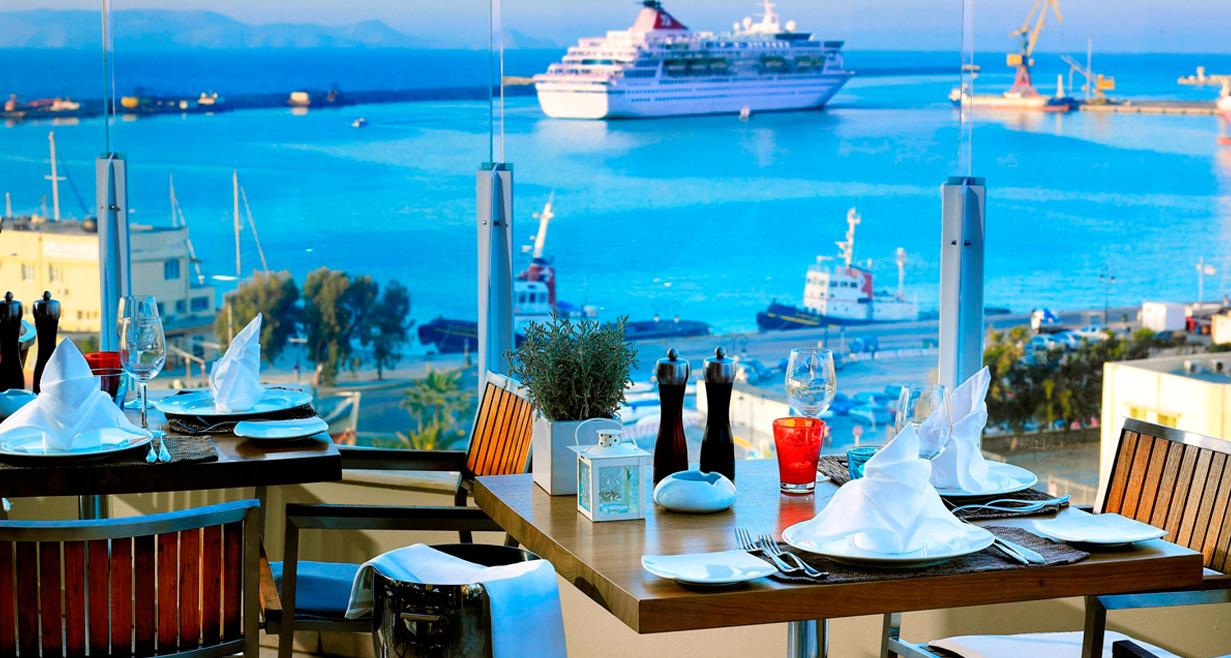 Herb's Garden Restaurant in Heraklion, Crete