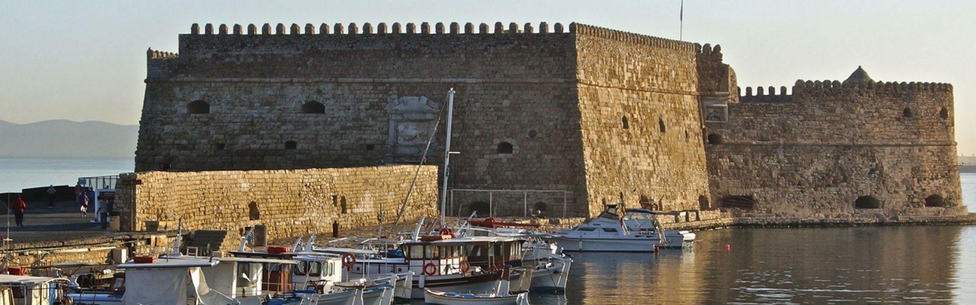 Venetian Fortress - Heraklion city