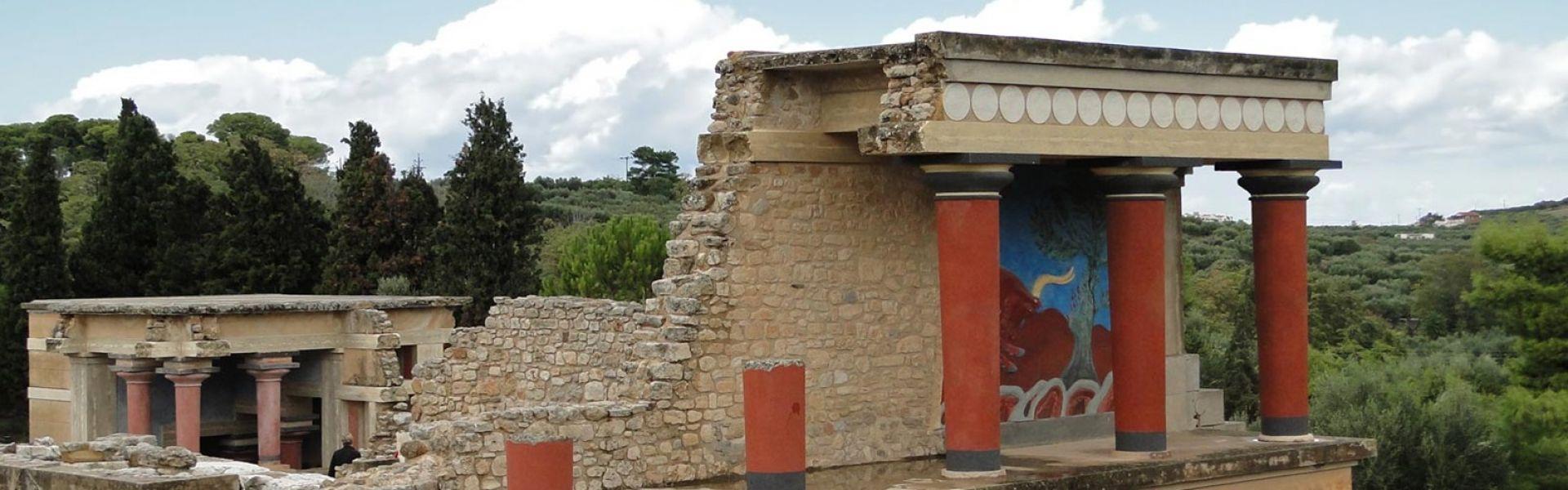 Knossos palace - Heraklion city