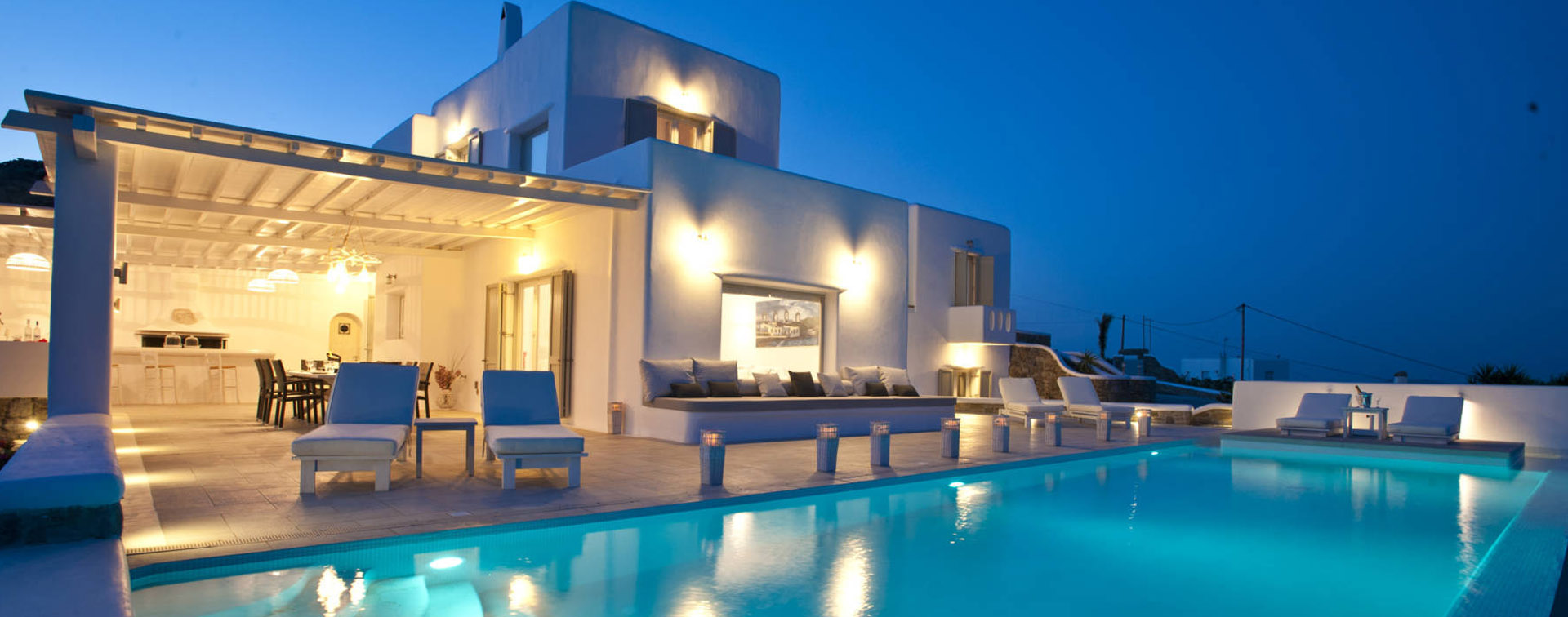Villa Christy at Tourlos of Mykonos