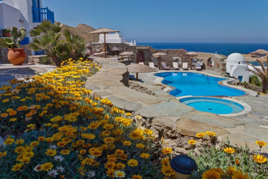 Mykonos thea sea view with pool