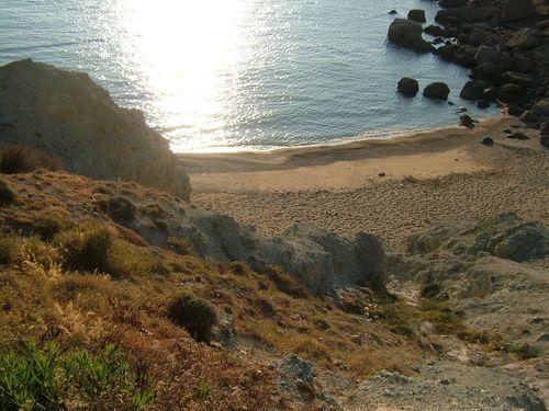 Mykonos thea private beach road